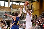 DESCRIZIONE : Capodistria Koper Nazionale Italia Uomini Adecco Cup Italia Italy Ucraina Ukraine<br /> GIOCATORE : Daniel Hackett<br /> CATEGORIA : tiro three points<br /> SQUADRA : Italia Italy<br /> EVENTO : Adecco Cup<br /> GARA : Italia Italy Ucraina Ukraine<br /> DATA : 22/08/2015<br /> SPORT : Pallacanestro<br /> AUTORE : Agenzia Ciamillo-Castoria/R.Morgano<br /> Galleria : FIP Nazionali 2015<br /> Fotonotizia : Capodistria Koper Nazionale Italia Uomini Adecco Cup Italia Italy Ucraina Ukraine