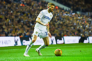 Stuart Dallas of Leeds United (15) in action during the EFL Sky Bet Championship match between Leeds United and Bristol City at Elland Road, Leeds, England on 24 November 2018.