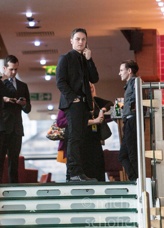 James McAvoy.<br /> Edinburgh hosts the World Premiere of Filth at the Omni cinema.<br /> &copy;Michael Schofield.