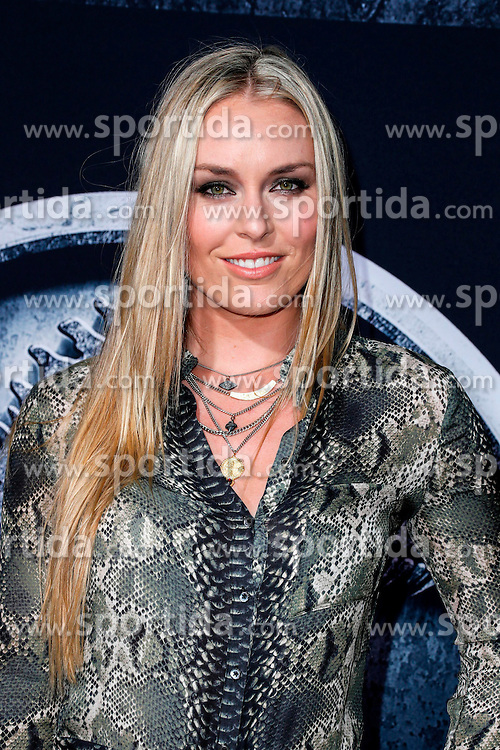 Lindsey Vonn, Jurassic World - World Premiere, at the Dolby Theatre, June 9, 2015 - Hollywood, California, CelebrityPhoto. com. EXPA Pictures &copy; 2015, PhotoCredit: EXPA/ Photoshot/ Celebrity Photo<br /> <br /> *****ATTENTION - for AUT, SLO, CRO, SRB, BIH, MAZ only*****