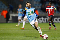FOOTBALL - FRENCH CHAMPIONSHIP 2011/2012 - L1 - LILLE OSC v STADE BRESTOIS  - 26/11/2011 - CHRISTOPHE ELISE / DPPI - EDEN BEN BASAT (STADE BRESTOIS)