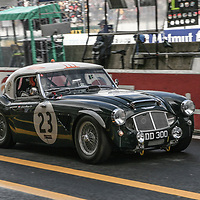 #23 Austin Healey 3000 at Le Mans Legends Race, Le Mans 24H, 2007