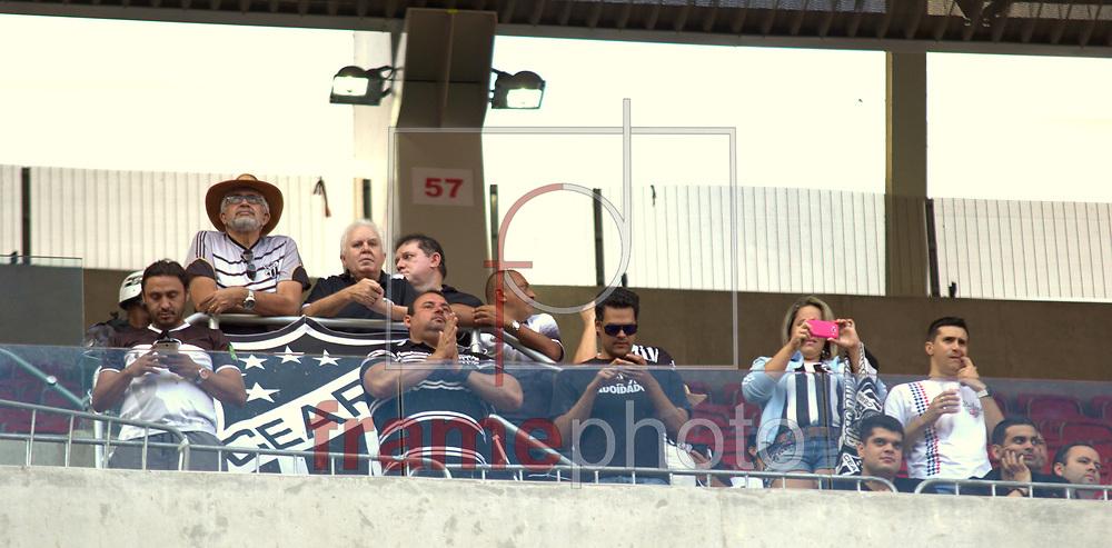 Partida entre Santa Cruz e Ceara, válida pela 27 rodada no Campeonato Brasileiro serie B, realizada nesse Sabado (19/09) na Arena Pernambuco, em Recife. Foto: Leduar Filho/Frame