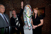SIR EVELYN DE ROTHSCHILD; MARK SHAND; SARAH THE DUCHESS OF YORK, The launch party for Elephant Parade hosted at the house of  Jan Mol. Covent Garden. London. 23 June 2009.