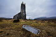 Dunlewey church at the foot of Errigal (the hightest mountain in County Donegal) and overlooking the beautiful Poisoned Glen sits the beautiful 'Old Church of Dunlewey'.