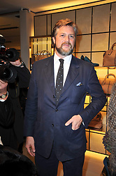 The 10th EARL OF ALBEMARLE at a party to launch the book 'Italian Touch' - A Celebration of Italian Lifestyle held at TOD's, 2-5 Old Bond Street, London on 4th November 2009.