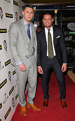 Josh Myers and guest attend Anti-Social - UK Film Premiere at Cineworld, Haymarket, London on Tuesday 28 April 2015,
