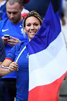 Tifosa Francia Supporters France <br /> Marseille 15-06-2016 Stade du Velodrome <br /> Football Euro2016 France - Albania / Francia - Albania Group Stage Group A<br /> Foto Massimo Insabato / Insidefoto