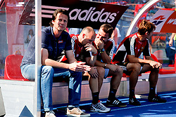 21.08.2011, Ernst-Happel-Stadion, Wien, AUT, 1. FBL, SK Rapid Wien vs FK Austria Wien, im Bild Peter Schoettel (SK Rapid Wien, Headcoach), EXPA Pictures © 2011, PhotoCredit: EXPA/ Erwin Scheriau