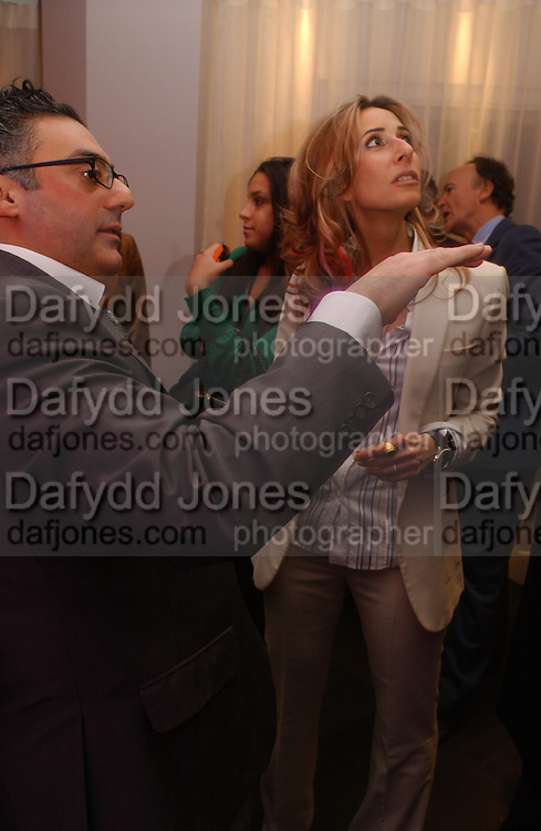Tara Bernard, Launch of the House and Garden directory of the 100 Leading Interior Designers. Design Club, 3rd Floor. South Dome, Chelsea Harbour. London. 13 March 2006. ONE TIME USE ONLY - DO NOT ARCHIVE  © Copyright Photograph by Dafydd Jones 66 Stockwell Park Rd. London SW9 0DA Tel 020 7733 0108 www.dafjones.com
