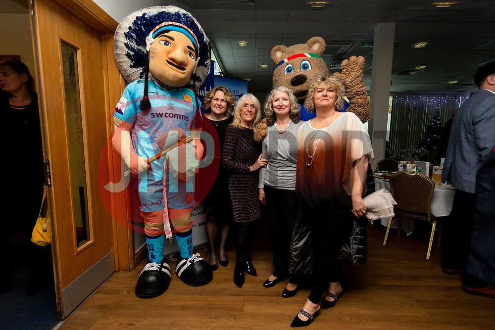 Guests arrive at the annual Exeter Chiefs Foundation Christmas Dinner at Sandy Park - Ryan Hiscott/JMP - 07/12/2018 - RUGBY - Sandy Park - Exeter, England - Exeter Chiefs Foundation Christmas Dinner with David Flatman