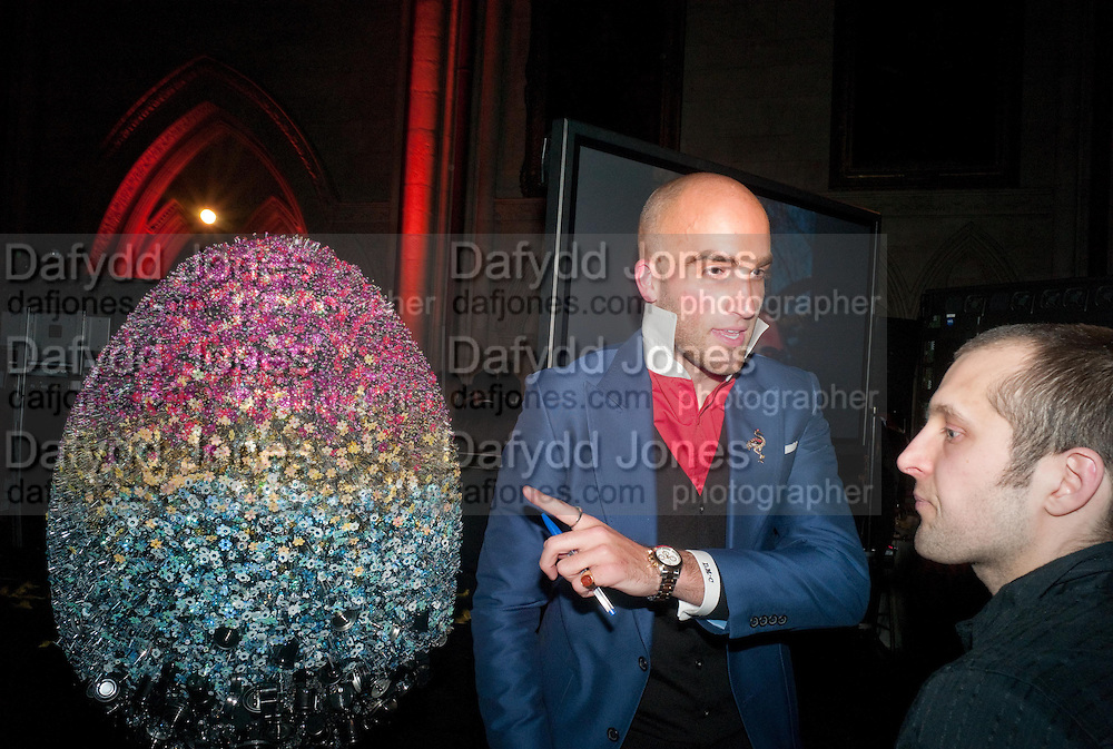 DRUMMOND MONEY-COUTS,  THE FABERGÉ BIG EGG HUNT AUCTION in aid of Action for Children. Royal Courts of Justice. London. 20 March 2012.