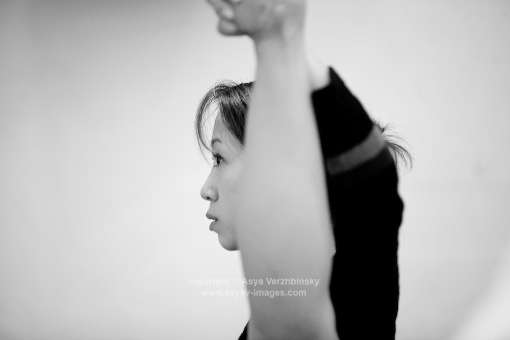 English National Ballet Company backstage rehearsals and class