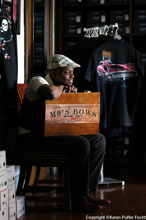 "One of Memphis' youngest CEOs  has grown his homespun business into an internationally recognized company, Mo's Bows. TIME Magazine this week named 13-year-old Bridges one of the ""30 Most Influential Teens of 2015."" Moziah Bridges started his business at age 9 with the help of his grandmother."