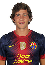 F.C. Barcelona 2012 / 2013. Marc Muniesa...Photo: Gregorio / ALFAQUII