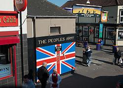 Political Mural in Belfast, Northern Ireland<br /> <br /> (c) Andrew Wilson | Edinburgh Elite media