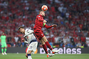 Jordan Henderson of Liverpool against Dele Alli of  Tottenham Hotspur during the Champions League Final match between Tottenham Hotspur and Liverpool at Tottenham Hotspur Stadium, London, United Kingdom on 1 June 2019.