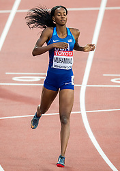 06-08-2017 IAAF World Championships Athletics day 4, London<br /> Dalilah Muhammed USA