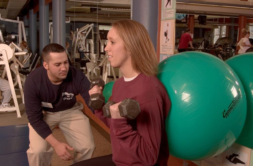 Exercise Ball:.Marisa Mowery