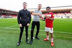 Man of the Match Jay Dasilva of Bristol City - Mandatory by-line: Ryan Hiscott/JMP - 07/10/2018 - FOOTBALL - Ashton Gate Stadium - Bristol, England - Bristol City v Sheffield Wednesday - Sky Bet Championship