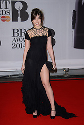 Daisy Lowe attends the BRIT Awards 2014. O2 Arena, London, United Kingdom. Wednesday, 19th February 2014. Picture by Chris Joseph / i-Images