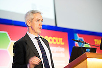 Declan Droney Kinvara Smoked Salmon at the annual SCCUL Enterprise Awards prize giving ceremony and business expo which was hosted by NUI Galway in the Bailey Allen Hall, NUIG. Photo:Andrew Downes