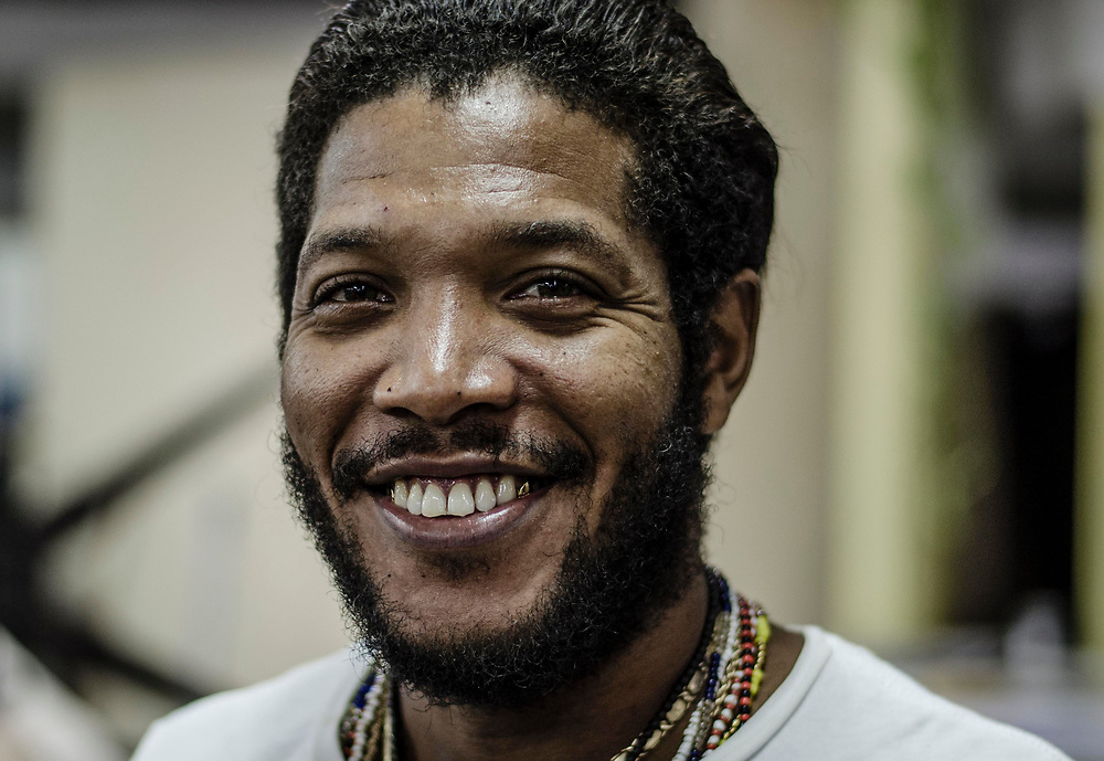 Portraits of Cuban faces. The wonderful people of Havana, Cuba in November 2017