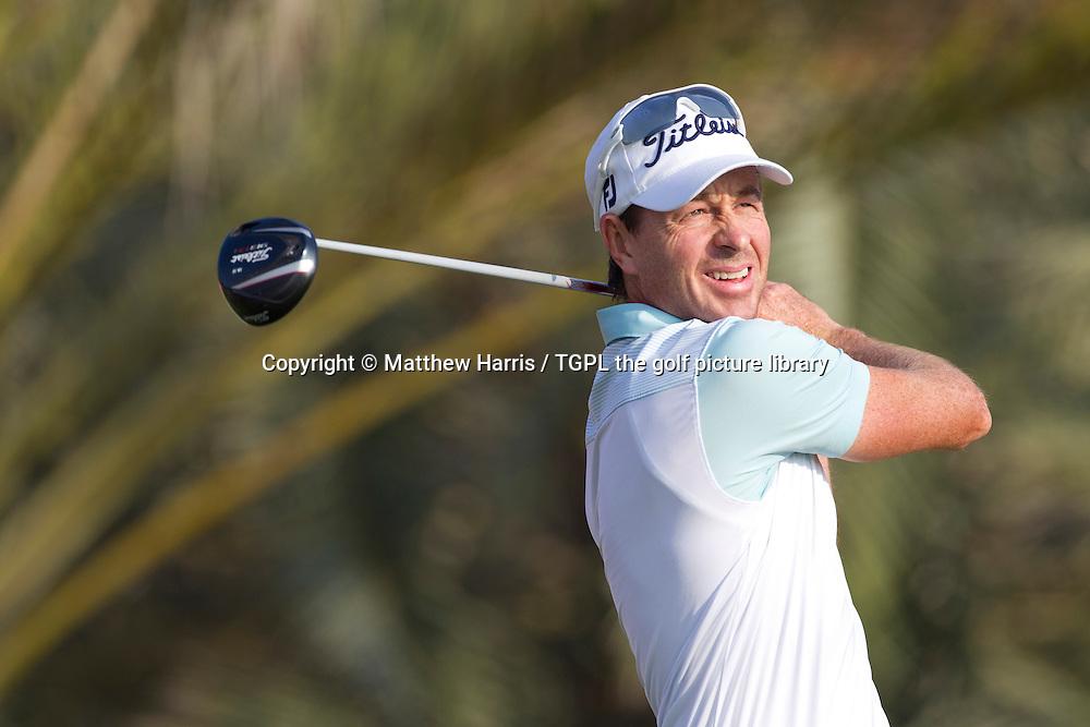 Brett RUMFORD (AUS) during first round HSBC Abu Dhabi Championship 2014,Abu Dhabi Golf Club,Abu Dhabi,UAE.