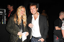 ASTRID HARBORD and TOM RUTHERFORD at the Launch of Peroni Nastro Azzurro Accademia del Film Wrap Party Tour held atThe Boiler House, 152 Brick Lane, London E1 on 25th August 2010.