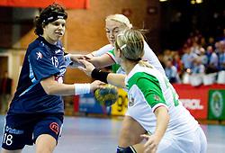 Maja Breznik of Slovenia at Women European Championships Qualifying handball match between National Teams of Slovenia and Belarus, on October 17, 2009, in Kodeljevo, Ljubljana.  (Photo by Vid Ponikvar / Sportida)