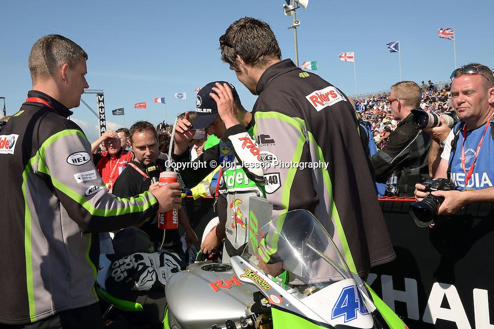 #40 Martin Jessopp Yeovil Riders Motorcycles Triumph