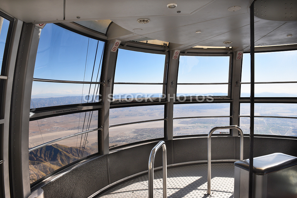 Palm Springs Aerial Tramway Tram Car Interior