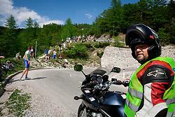 Joze Knafeljc during Stage 3 from Skofja Loka to Vrsic (170 km) of cycling race 20th Tour de Slovenie 2013,  on June 15, 2013 in Slovenia. (Photo By Vid Ponikvar / Sportida)