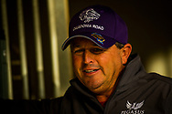HALLANDALE BEACH, FL - JANUARY 25: Trainer Ralph Nicks at the Pegasus World Cup Invitational at Gulfstream Park Race Track on January 25, 2018 in Hallandale Beach, Florida. (Photo by Alex Evers/Eclipse Sportswire/Breeders Cup)