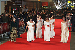 Zombies, Pride And Prejudice And Zombies - European Film Premiere,  Leicester Square, London UK, 1 February 2016, Photo by Richard Goldschmidt /LNP © London News Pictures