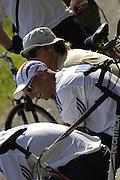 2006, U23 Rowing Championships, Hazewinkel, BELGIUM Friday, 21.07.2006. USA BM8+, Photo  Peter Spurrier/Intersport Images email images@intersport-images.com....[Mandatory Credit Peter Spurrier/ Intersport Images] Rowing Course, Bloso, Hazewinkel. BELGUIM