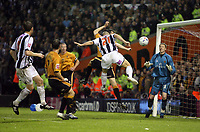 Photo: Rich Eaton.<br /> <br /> West Bromwich Albion v Wolverhampton Wanderers. Coca Cola Championship. Play off Semi Final 2nd Leg. 16/05/2007. West Broms Kevin Phillips #21 scores the first goal of the evening