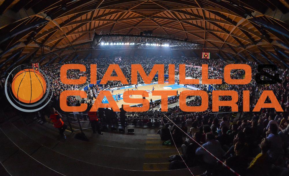 DESCRIZIONE : Final Eight Coppa Italia 2015 Finale Olimpia EA7 Emporio Armani Milano - Dinamo Banco di Sardegna Sassari<br /> GIOCATORE : PalaDesio<br /> CATEGORIA : Arena Palazzetto Panoramica Pubblico Tifosi Spettatori<br /> EVENTO : Final Eight Coppa Italia 2015<br /> GARA : Olimpia EA7 Emporio Armani Milano - Dinamo Banco di Sardegna Sassari<br /> DATA : 22/02/2015<br /> SPORT : Pallacanestro <br /> AUTORE : Agenzia Ciamillo-Castoria/L.Canu