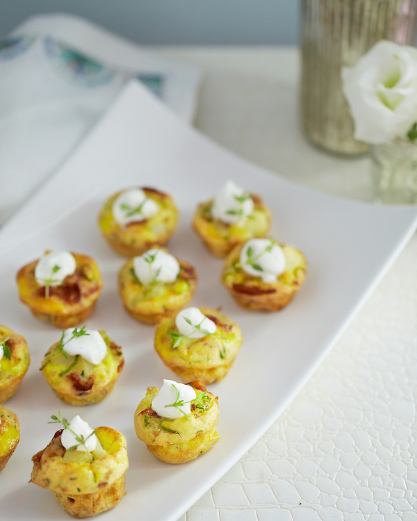 Holiday appetizers: Mini Quiche