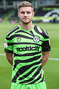 Forest Green Rovers Kyle Taylor(28),on loan from Bournemouthe during the EFL Sky Bet League 2 match between Forest Green Rovers and Newport County at the New Lawn, Forest Green, United Kingdom on 31 August 2019.