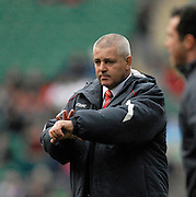 Twickenham, GREAT BRITAIN, Wales  Head Coach Warren GATLAND, before the 2008 Six Nations Rugby Championship, England vs Wales at the RFU Stadium. 02.02.2008. [Mandatory Credit Peter Spurrier/Intersport Images]