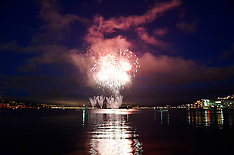 Wellinton-Fireworks display over capital's harbour