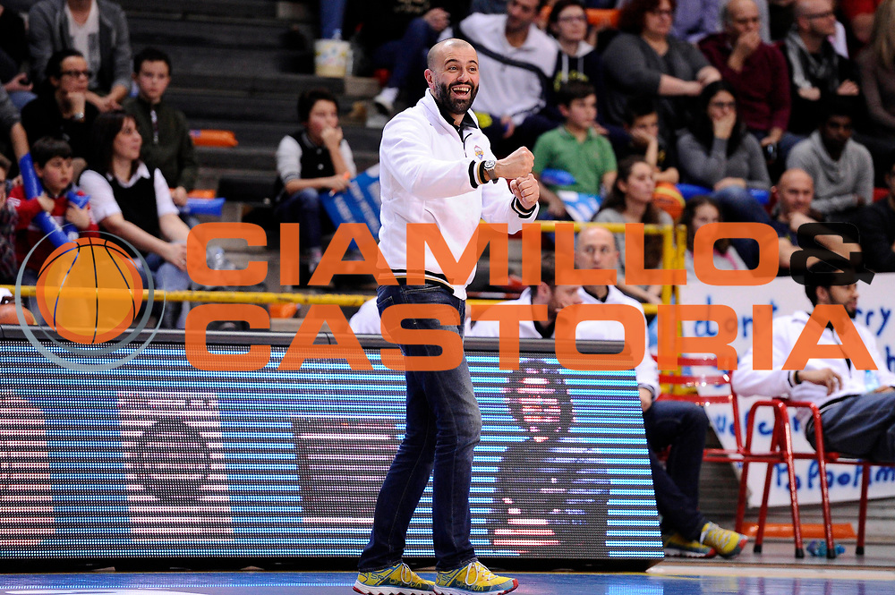 DESCRIZIONE : Verona Lega A 2014-15 All Star Game 2015 <br /> GIOCATORE : Maurizio Buscaglia<br /> CATEGORIA : esultanza<br /> EVENTO : All Star Game Lega A 2015<br /> GARA : All Star Game Lega 2015<br /> DATA : 17/01/2015<br /> SPORT : Pallacanestro <br /> AUTORE : Agenzia Ciamillo-Castoria/M.Marchi<br /> Galleria : Lega A 2014-2015 <br /> Fotonotizia : Verona Lega A 2014-15 All Star game 2015