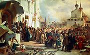Defense of the Troitse-Sergiyeva Lavra against Polish forces by Vasily Petrovich Vereshchagin