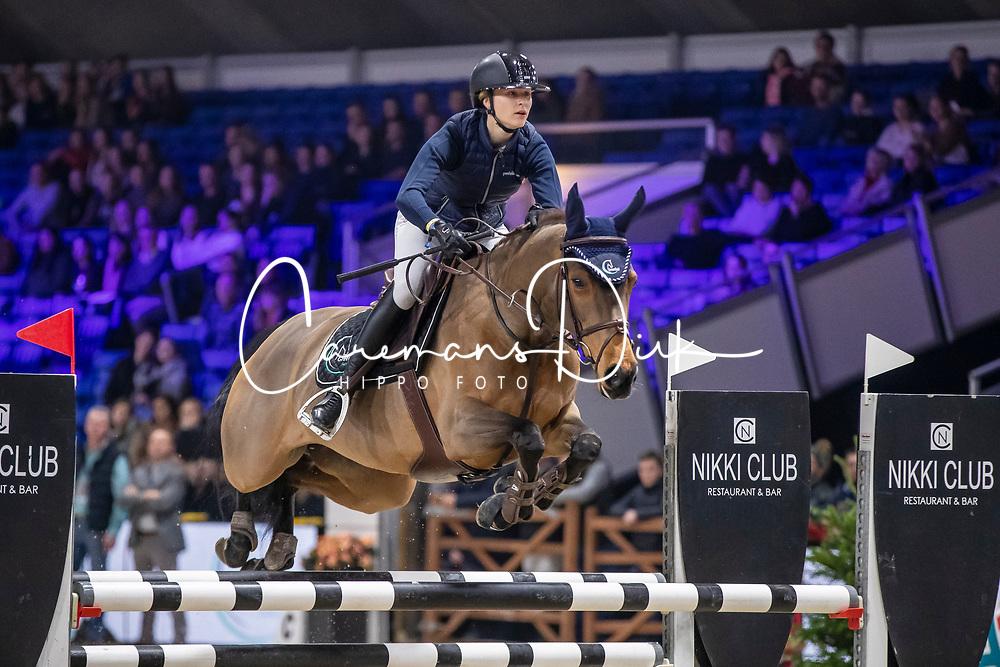 Van Gorp Marthe, BEL, Mellifluous<br /> Jumping Mechelen 2019<br /> © Hippo Foto - Dirk Caremans<br />  26/12/2019