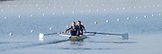 Caversham  Great Britain.<br /> Stroke Constantine LOULOUDIS and Pete REED.<br /> 2016 GBR Rowing Team Olympic Trials GBR Rowing Training Centre, Nr Reading  England.<br /> <br /> Tuesday  22/03/2016 <br /> <br /> [Mandatory Credit; Peter Spurrier/Intersport-images]