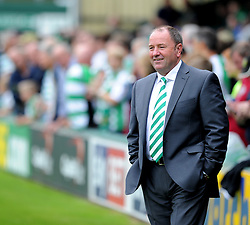 Yeovil Town Manager, Gary Johnson  - Photo mandatory by-line: Alex James/JMP - Tel: Mobile: 07966 386802 24/08/2013 - SPORT - FOOTBALL - Huish Park - Yeovil -  Yeovil Town V Derby County - Sky Bet Championship