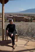 Portrait of Martha Burk, author, and women's issues expert at her home in Corrales New Mexico on Friday, March 26, 2010. Burk led a demonstrations during Masters week at Augusta National Golf Club in 2003 to protest their male-only membership policy...