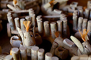 Venda Nova do Imigrante_ES, Brasil...Artesanato em madeira de cafe...Coffee wood crafts...Foto: LEO DRUMOND / NITRO