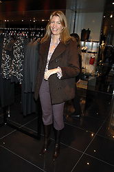 COUNTESS COSIMA PAVONCELLI she was Cosima von Bulow at a lunch to celebrate the launch of the Top Tips for Girls website (toptips.com) founded by Kate Reardon held at Armani, Brompton Road, London on 5th March 2007.<br />